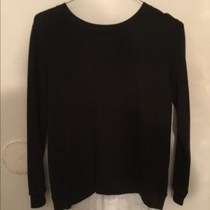 Claudie Pierlot Medium Laced Back Sweater